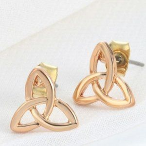 2/$12 Gold Celtic Stud Earrings